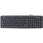 Клавиатура проводная Defender Element HB-520 KZ, черный