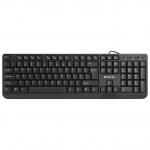 Клавиатура проводная Defender OfficeMate HM-710, (Черный), USB, ENG/RUS/KAZ, полноразмерная